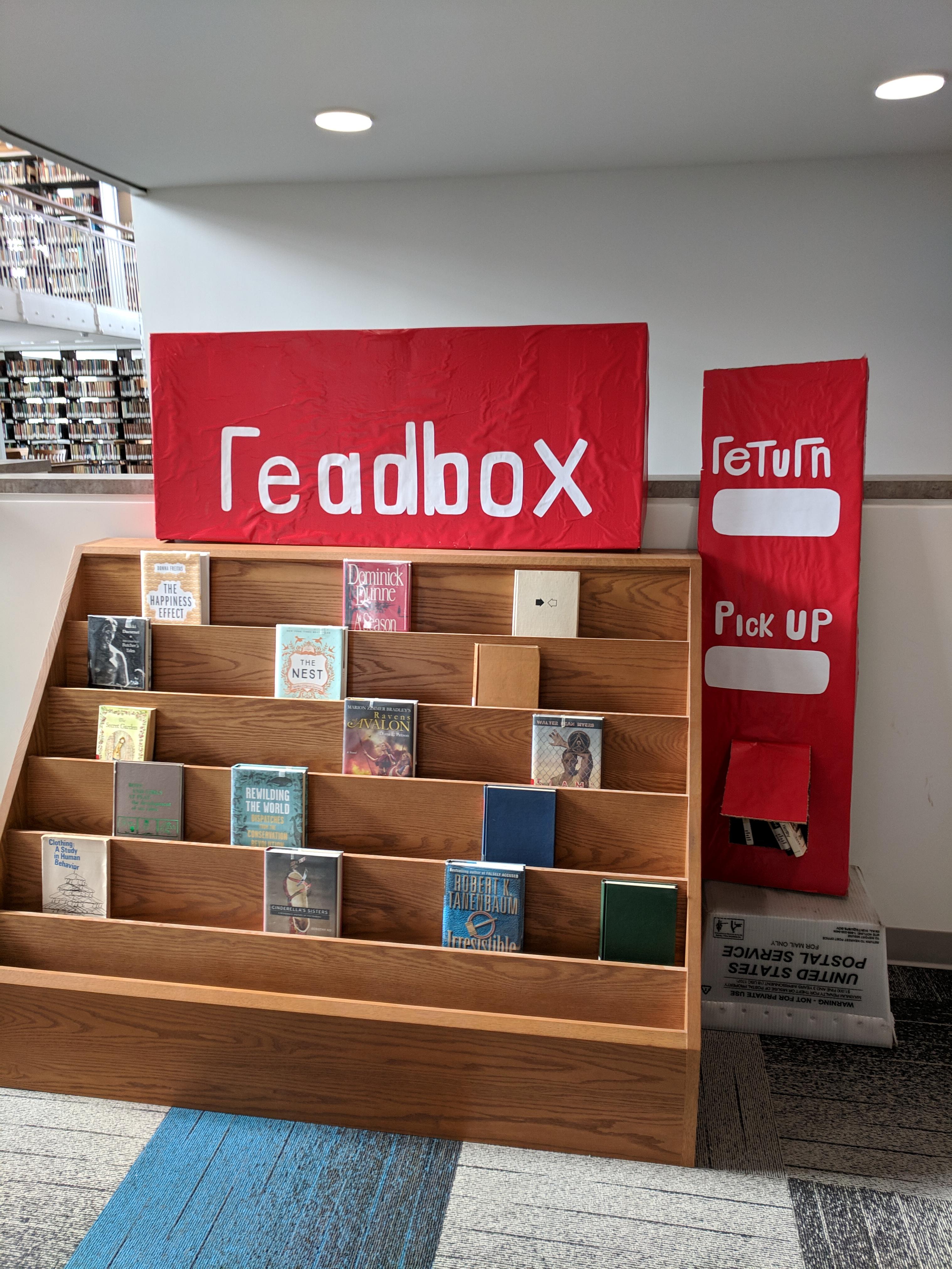 """""""Readbox"""" display"""